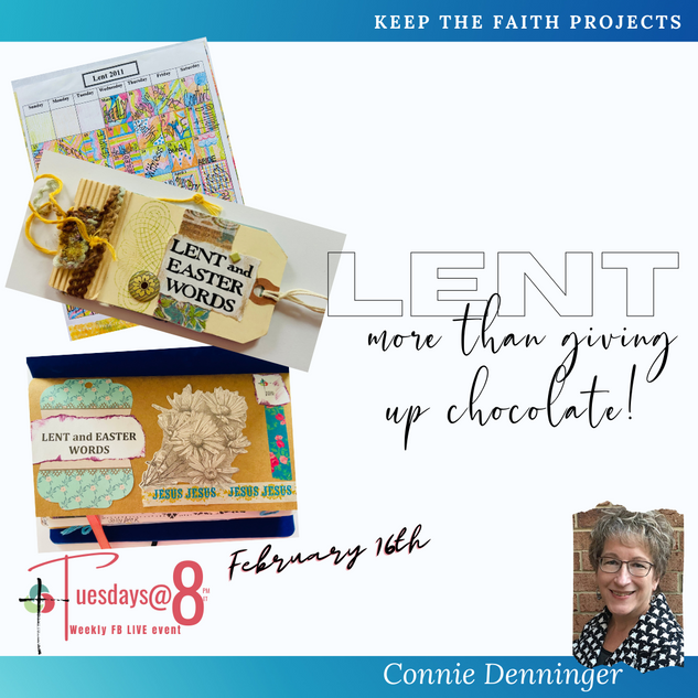 Lent- more than giving up chocolate!