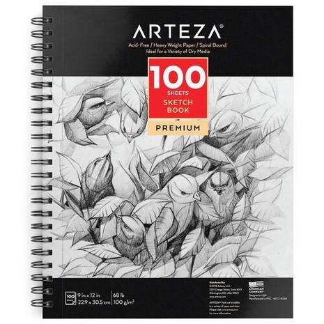 Arteza sketchbook