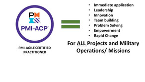 Why the Military needs PMI-Agile Certified Practitioner (ACP)