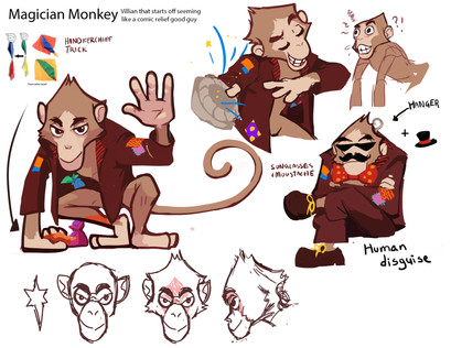 Magician monkey