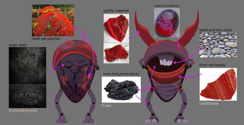 Final Poshiniya Demon Materials