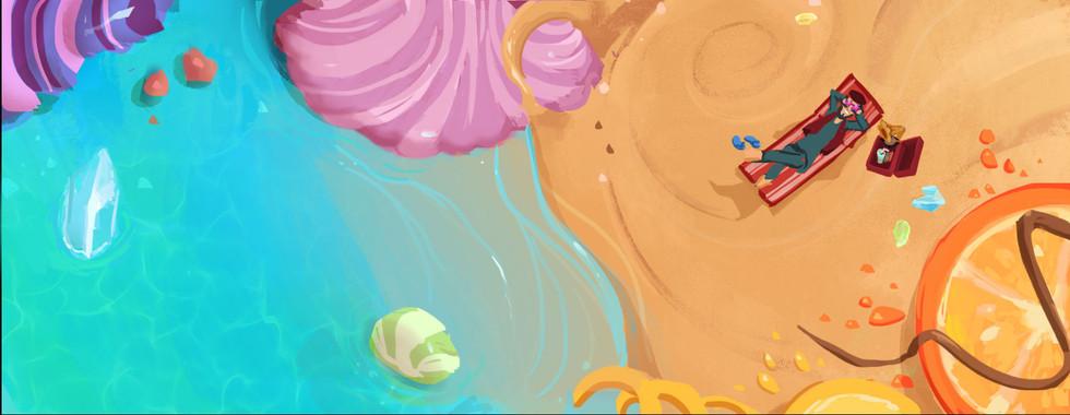 Deenu's song (Candy beach)