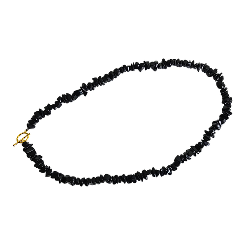 Black Tourmaline Crystal Necklace