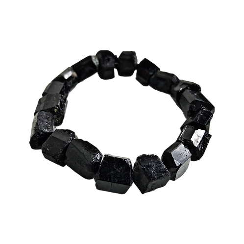 Rough Tourmaline Crystal Bracelet