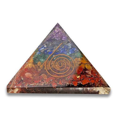 7 Chakra Pyramid Orgone Generator