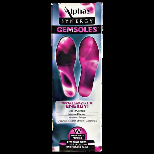 Womens Gemsoles Energy Balancing Footwear