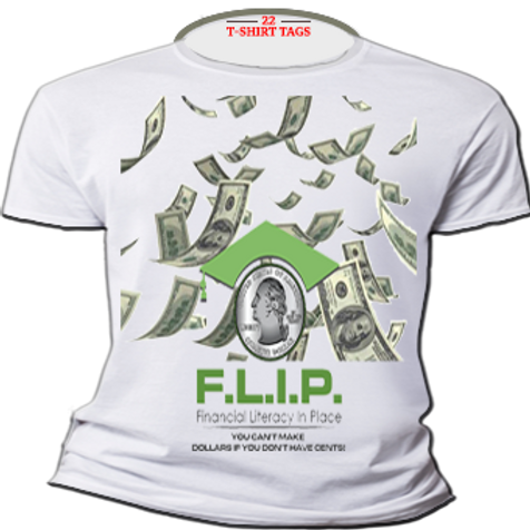 FLIP Logo T-Shirt -Women Signature Soft