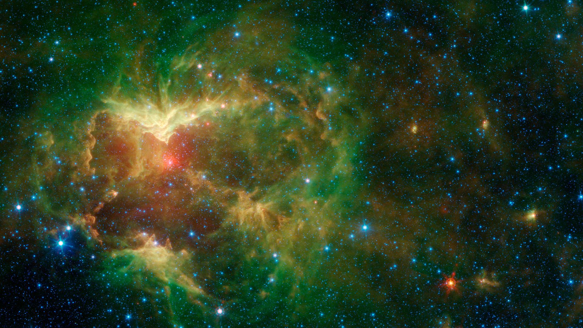 Jack o' latern Nebula