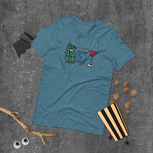 Weed Water Wine T-Shirt