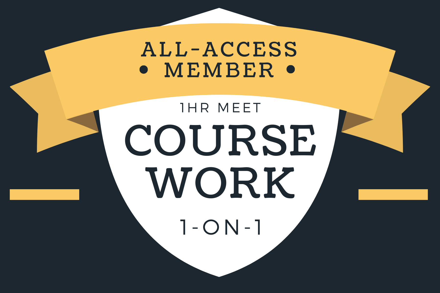 All-Access Course Work 1-on-1