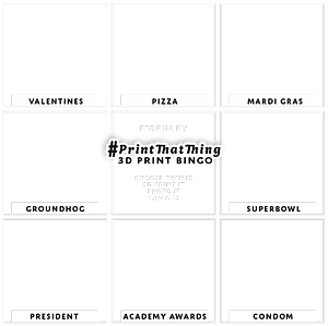Feb PTT Bingo