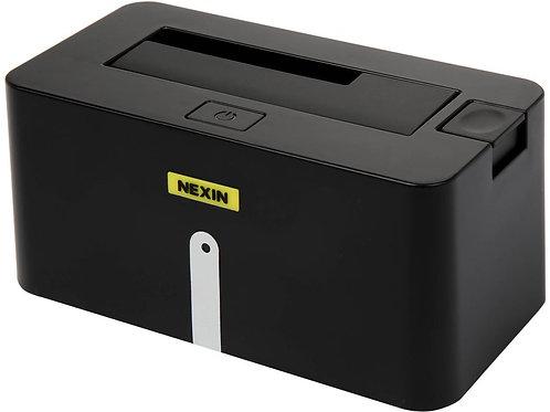 "NEXIN NEX-DS1U3 2.5"" & 3.5"" Black Single Bay SATA I/II/III USB 3.0 Docking Stati"