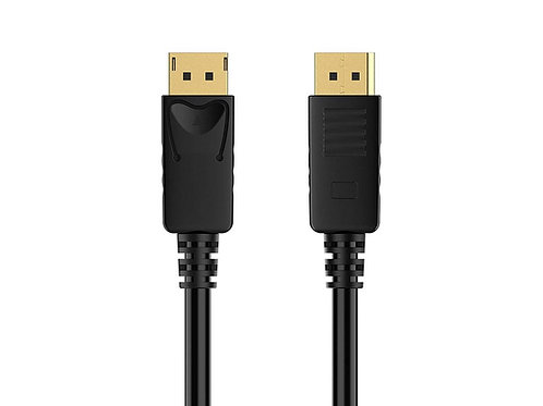 DisplayPort 1.2 [4K@60Hz] to DisplayPort Cable,Black , Gold Plated