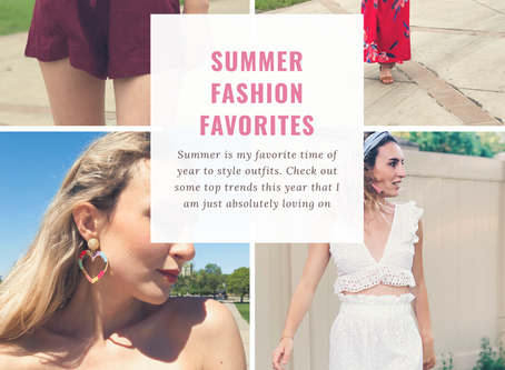 5 Summer Fashion Favorites