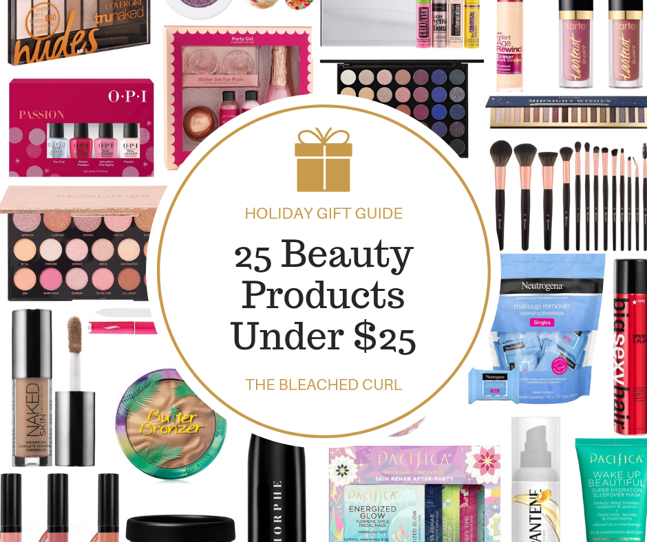 25 beauty products under $25, beauty, holiday, gifts, gift shopping