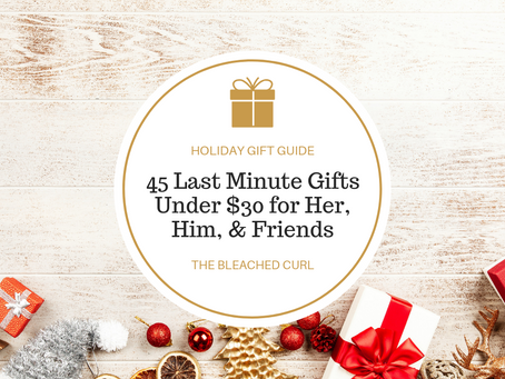 45 Last Minute Gifts Under $30 for Her, Him, and Friends
