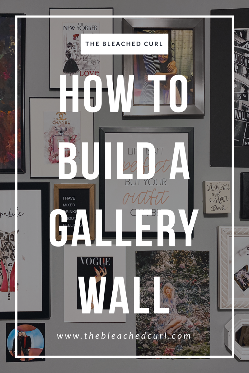 How to build an art gallery wall with command strips