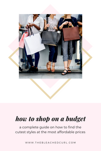 6 tips to find the most affordable styles when shopping online