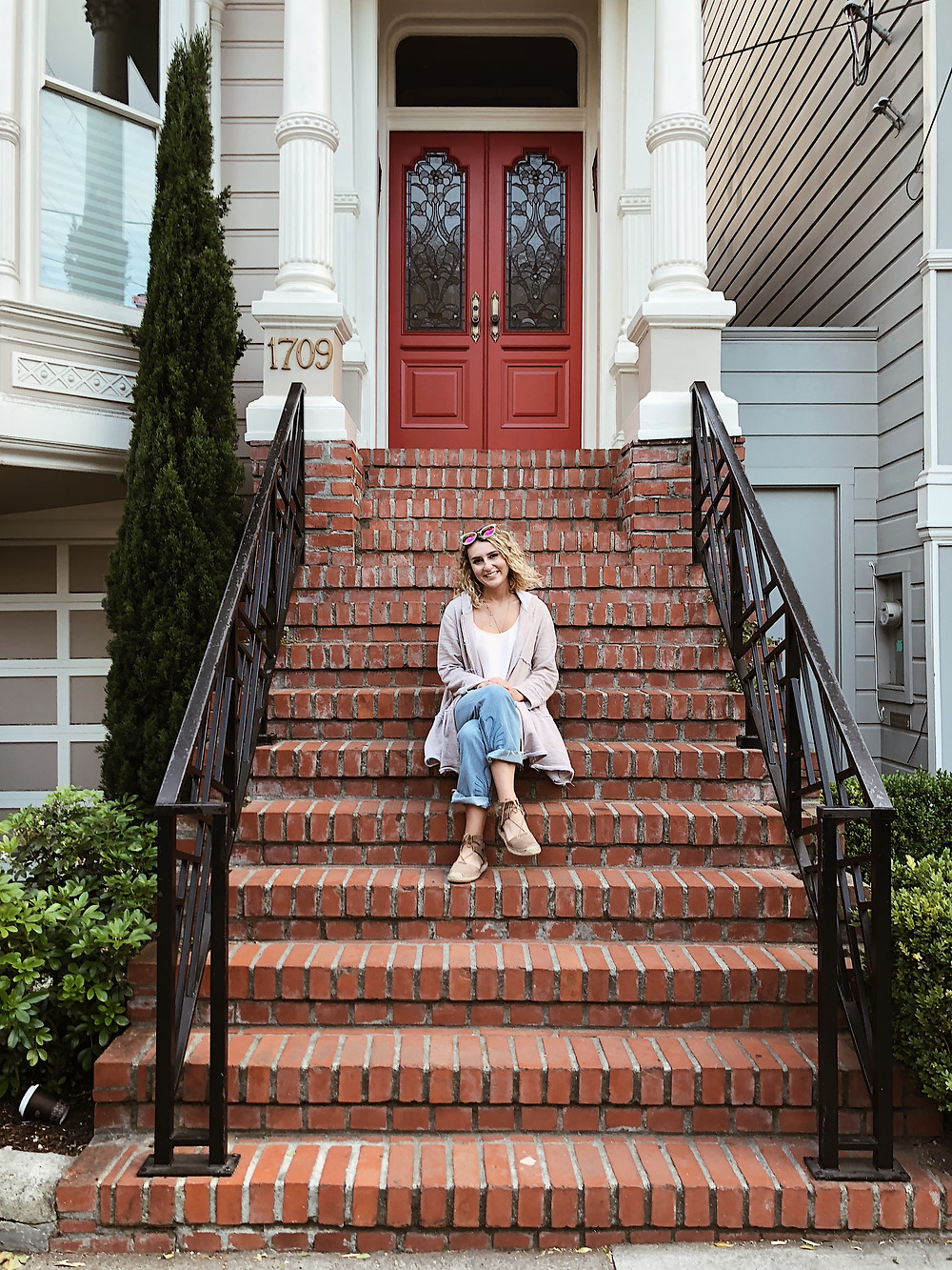 abby graf at the full house house