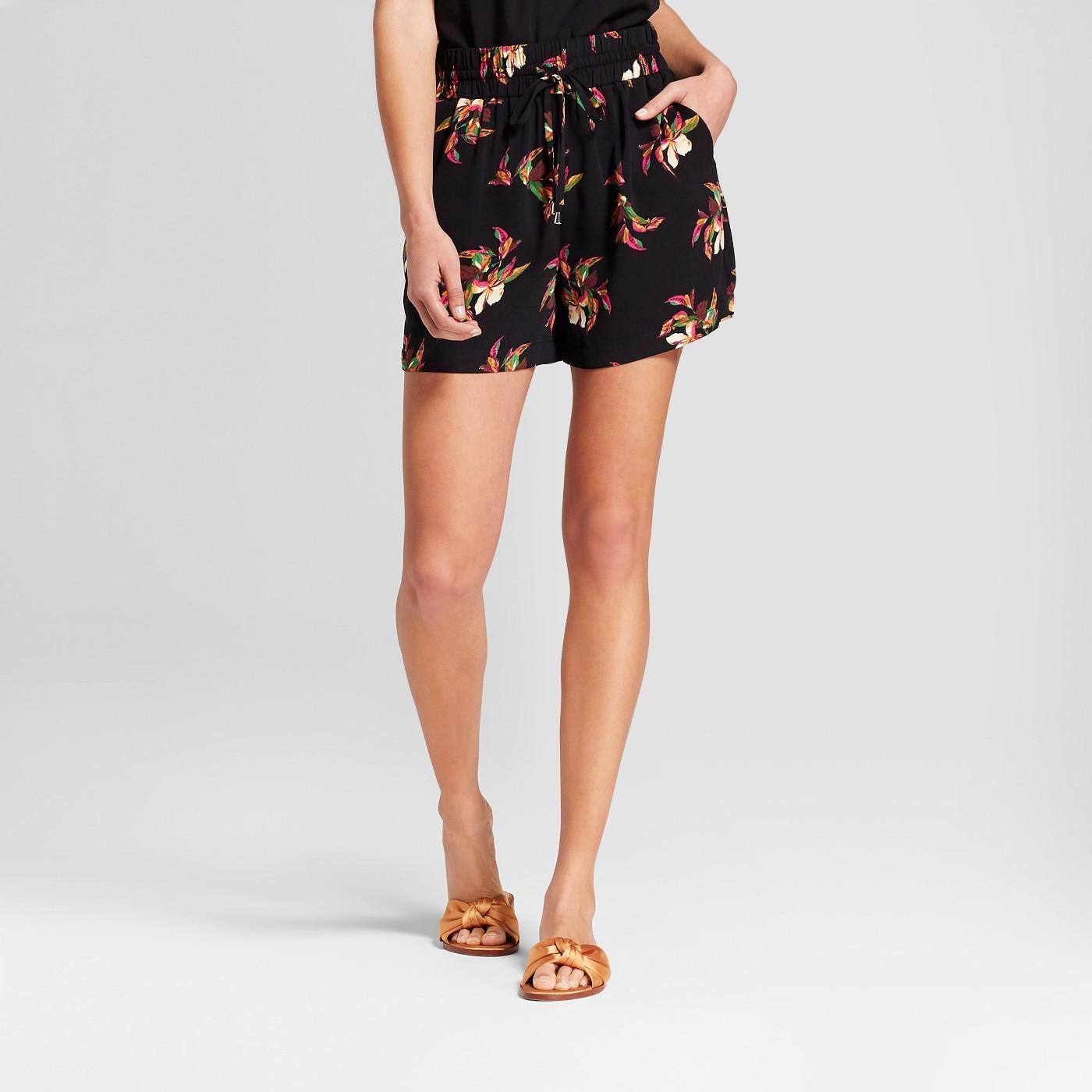 Floral Print Shorts - $13.98