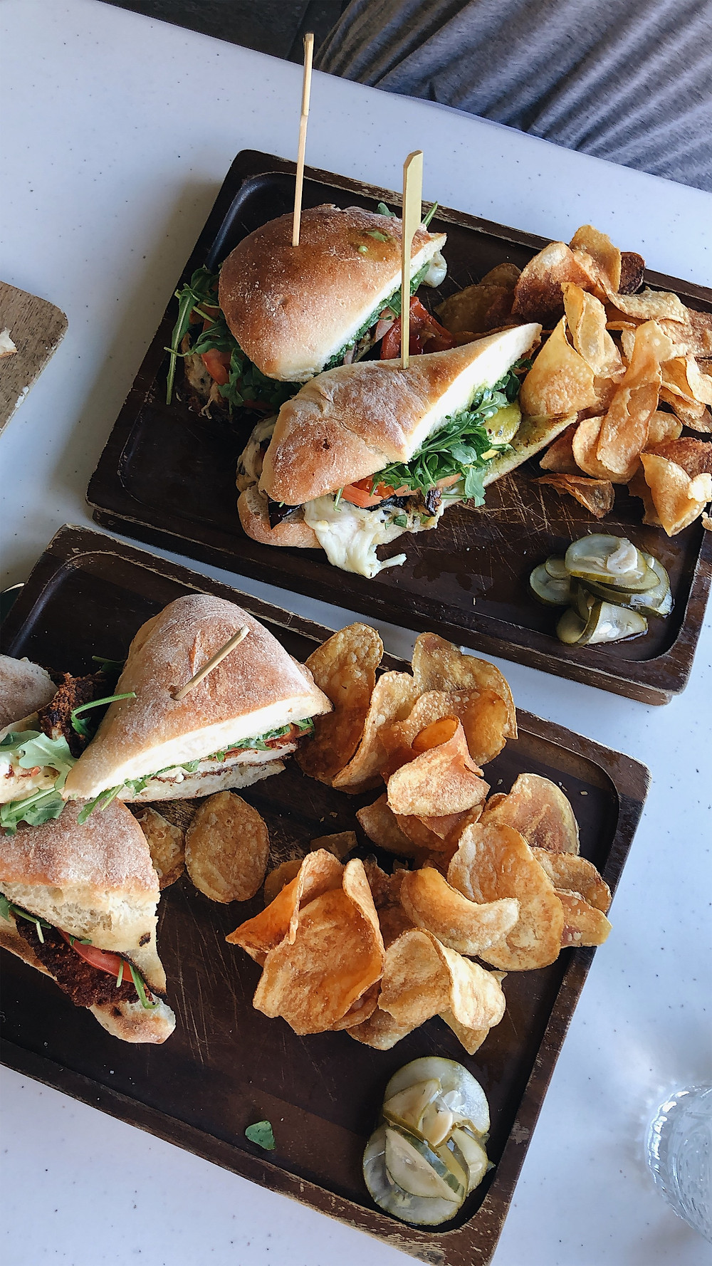 Terralina sandwiches, Abby Graf 2019