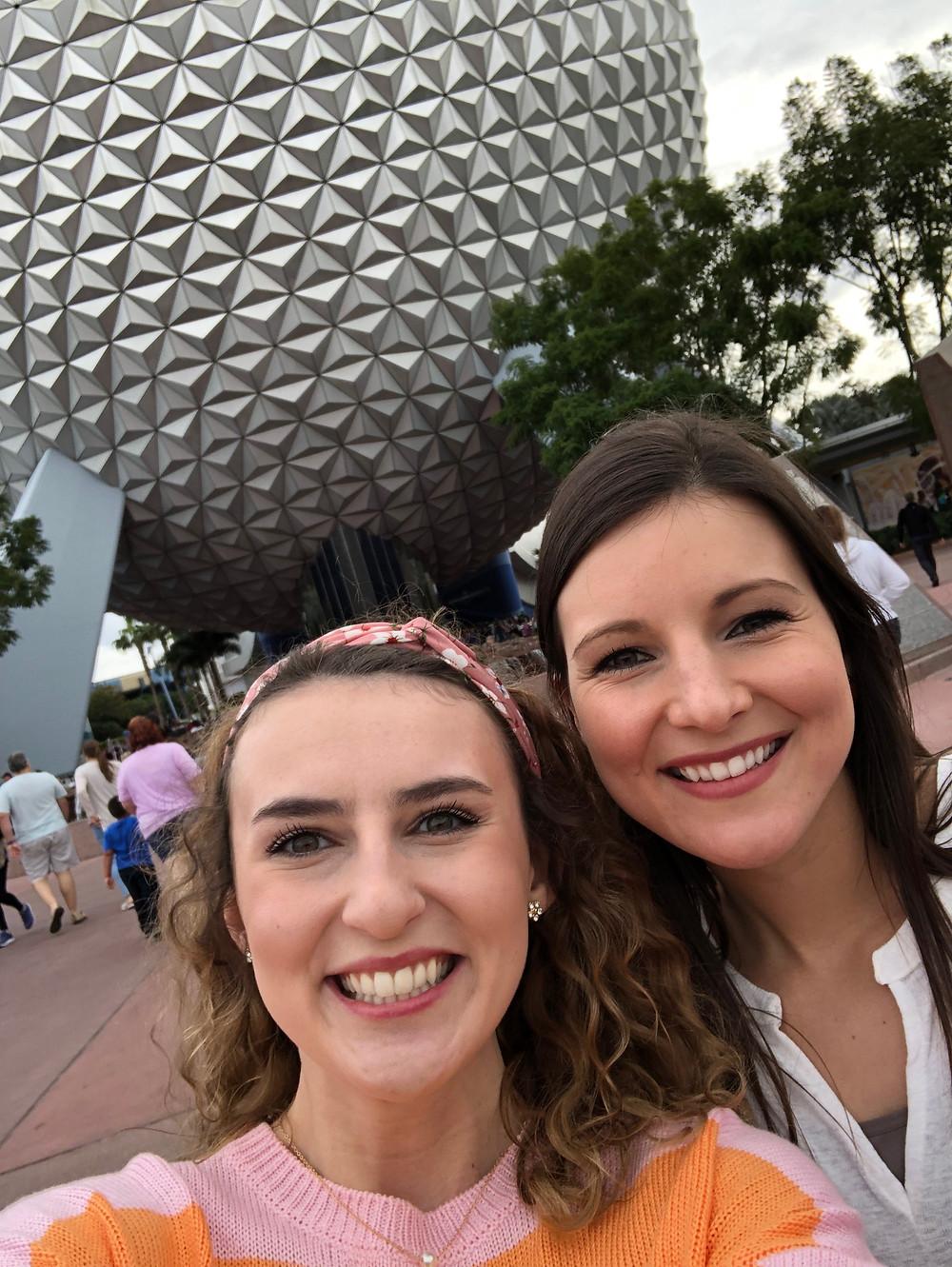 Kalen and Abby Graf 2019, Epcot