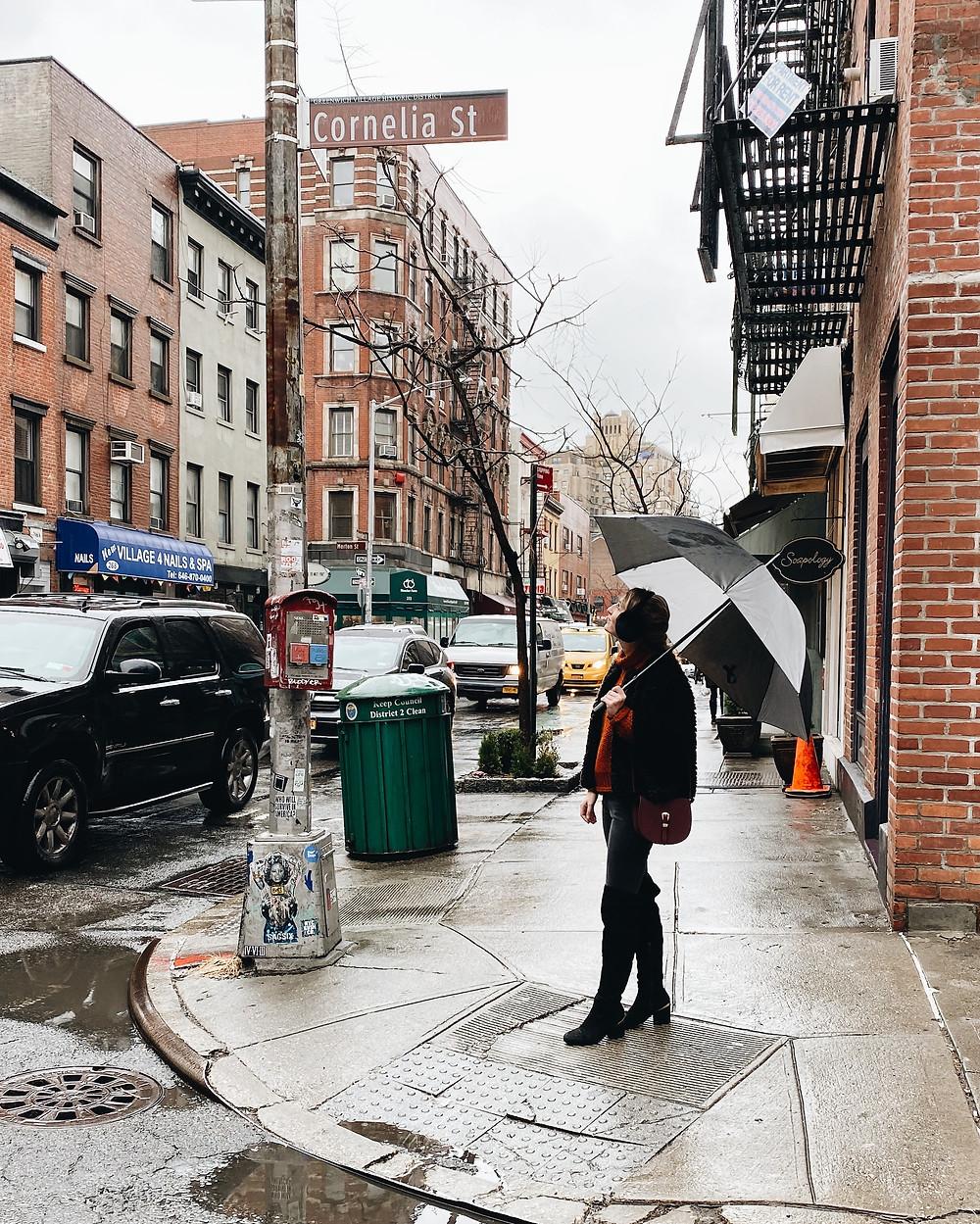 Cornelia Street, New York City, West Village