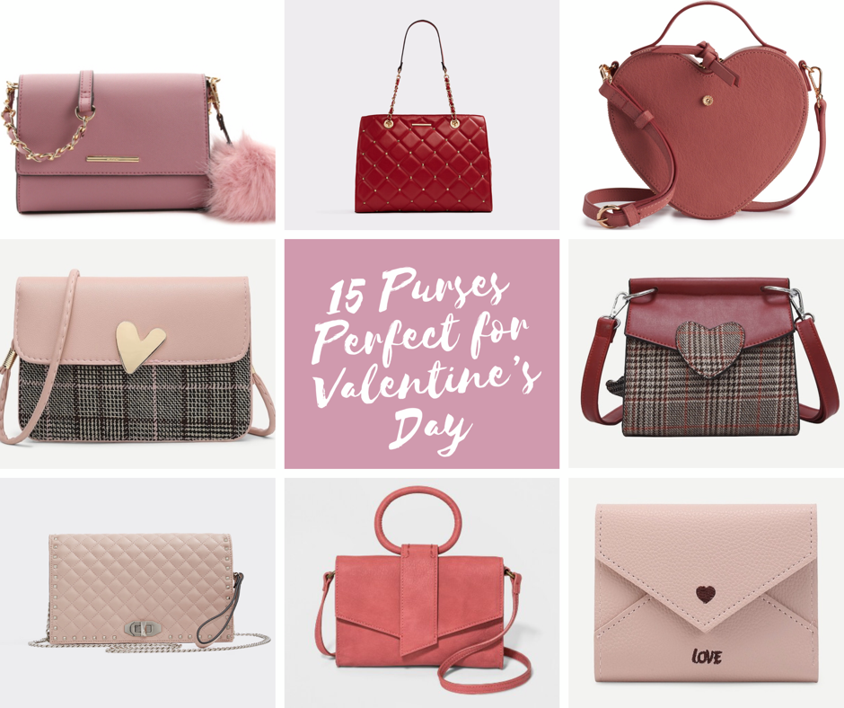 15 Purses Perfect for Valentine's Day; valentine's day; purses