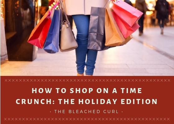 How to shop on a time crunch, the bleached curl