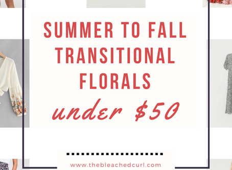 End-of-Summer Transitional Styles Under $50