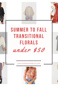 summer to fall transitional pieces