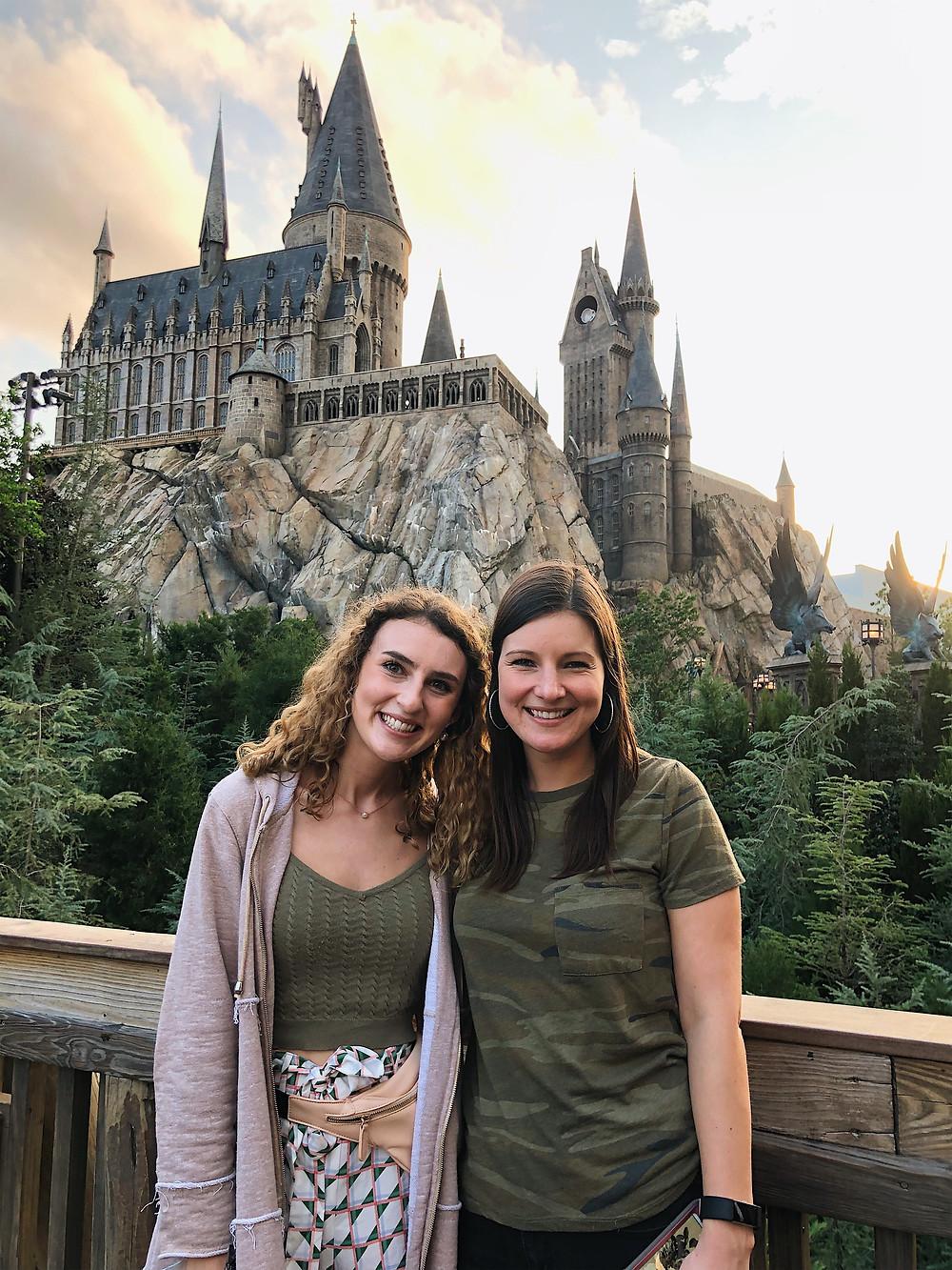 Abby Graf, Kalen Graf, Hogwarts Castle