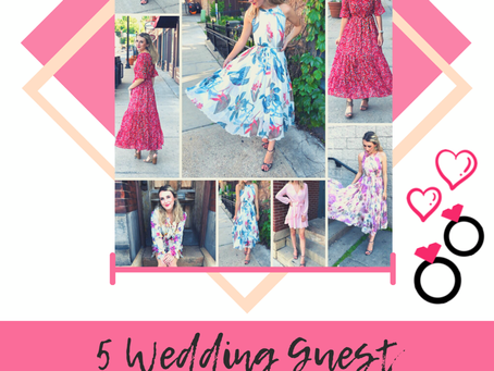 5 Summer Wedding Guest Styles with Chicwish