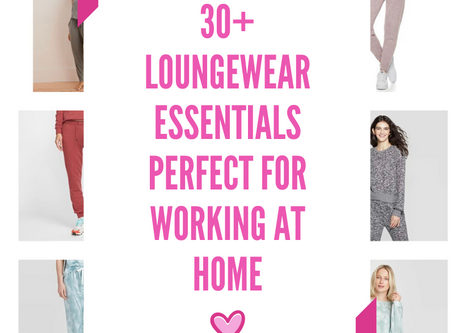 30+ Loungewear Essentials for the Perfect Work From Home Outfit