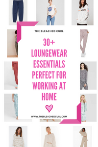 Working from home loungewear graphic.