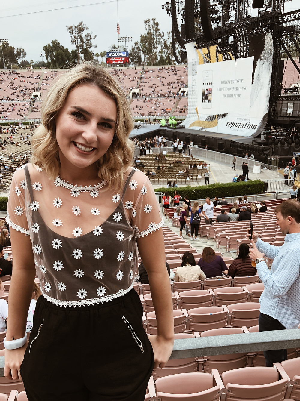 abby graf at the reputation stadium tour