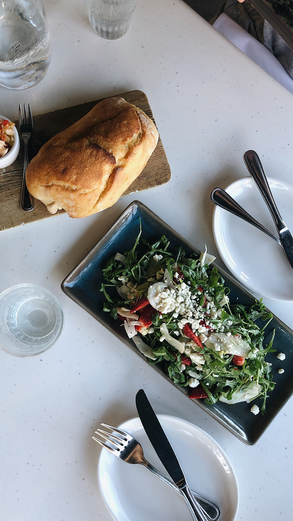 Terralina salad, Abby Graf 2019