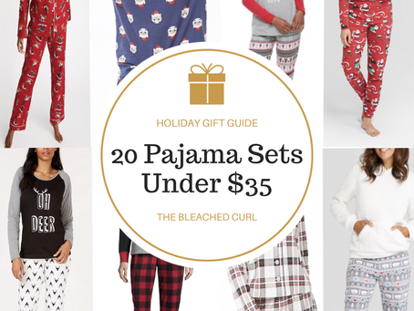 Holiday Gifts for Her: 20 Pajama Sets Under $35