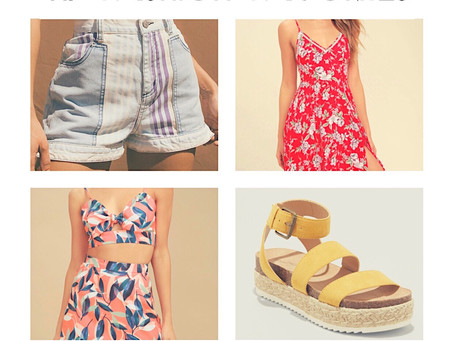 My Fashion Favorites: The Summer Edition