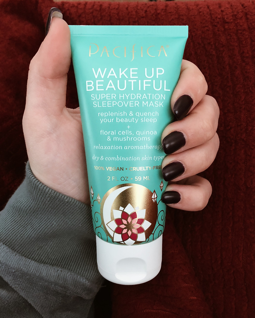 pacifica beauty super hydration sleepover mask