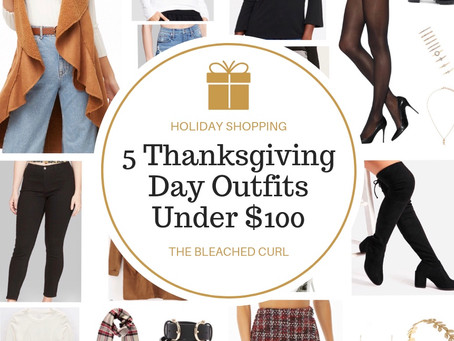 5 Thanksgiving Day Outfits Under $100