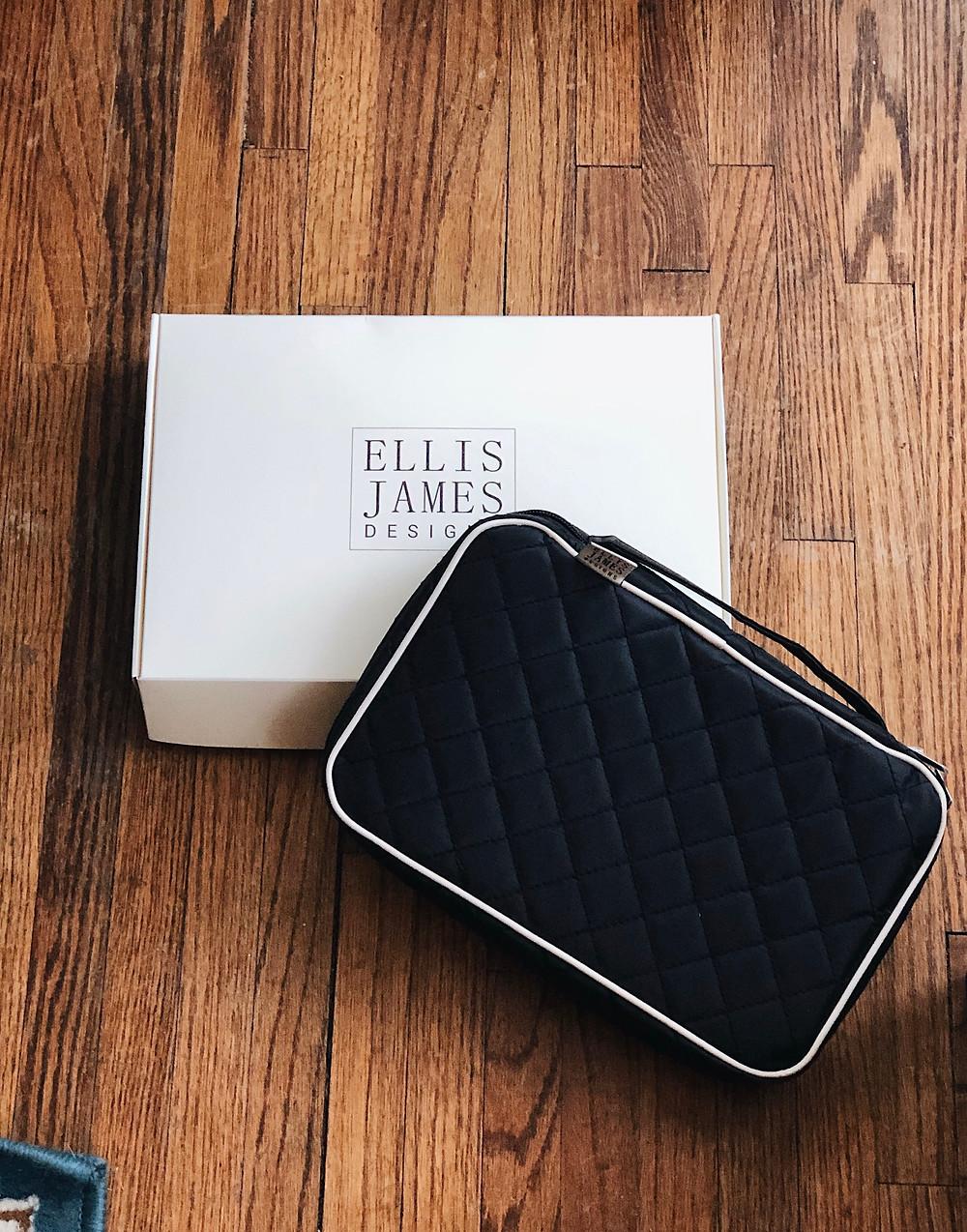 Ellis James Designs Makeup Brush Bag