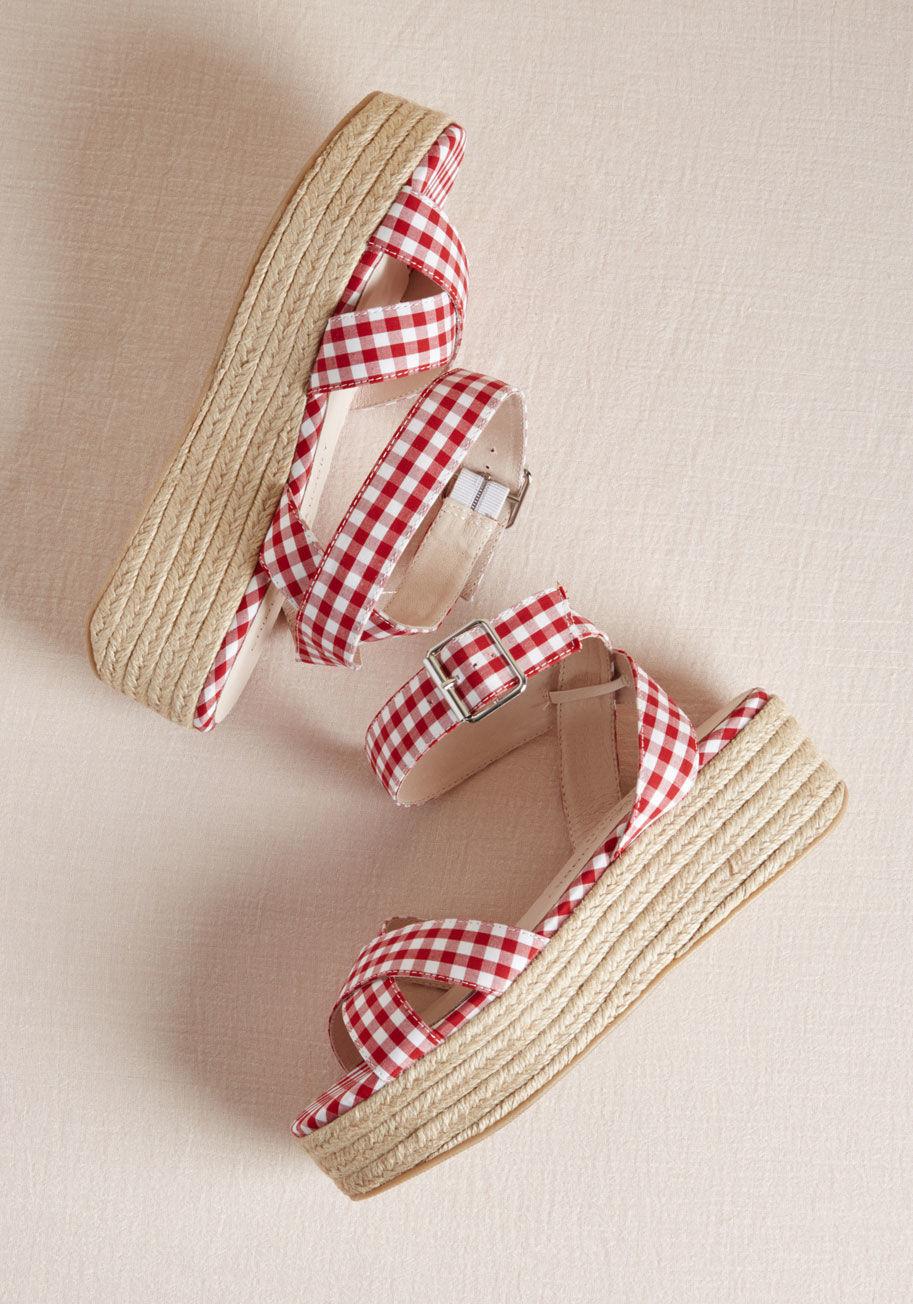 Alfresco Fete Platform Sandal - $35