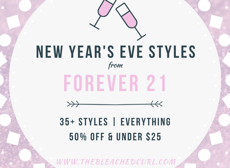Forever 21 New Year's Eve Styles Under $25