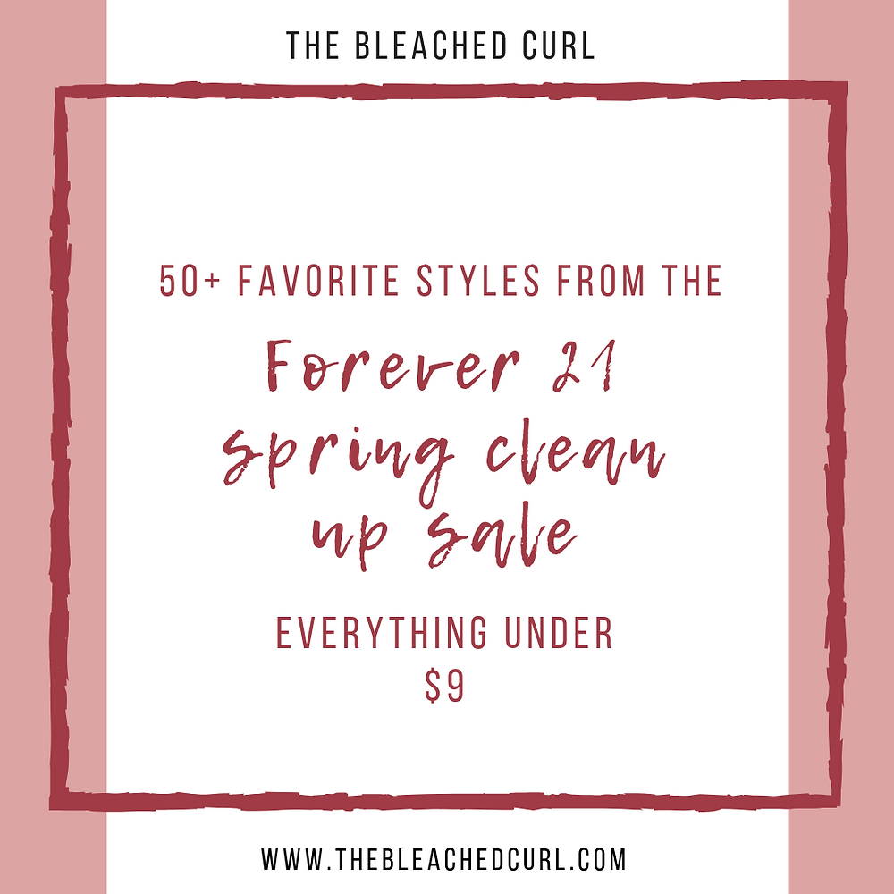 50+ Favorite Styles from the Forever 21 Spring Clean Up Sale