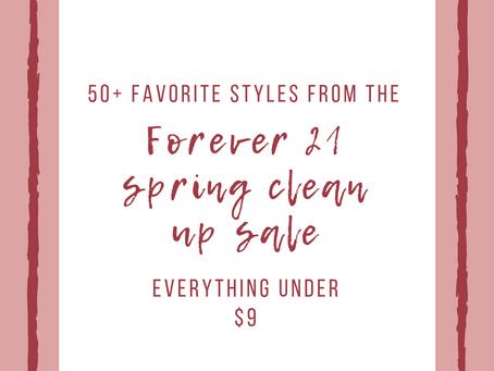 50+ Forever 21 Spring Clean Up Sale Favorites: Everything Under $9