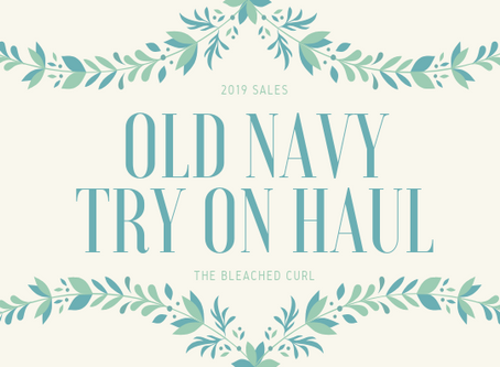 Sales on Sales on Sales: Old Navy Try-On Haul