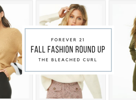 Forever 21 Fall Fashion Round Up