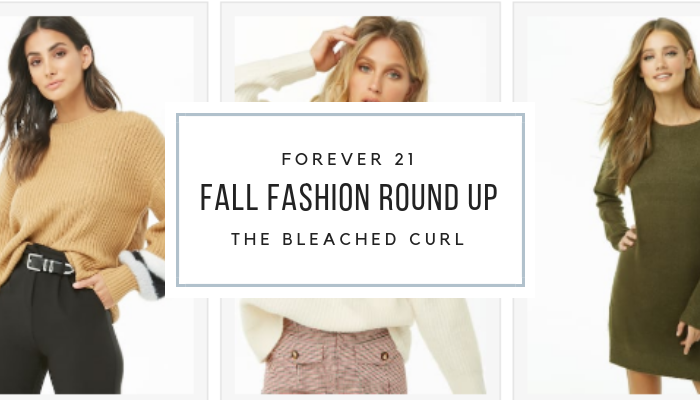 fall fashion round up, forever 21