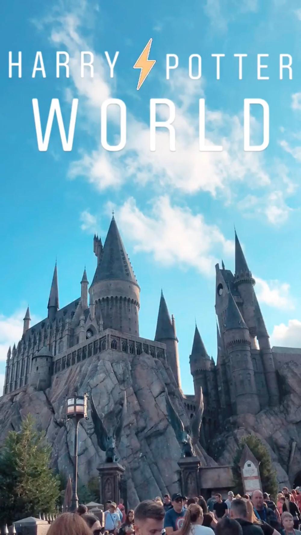 Harry Potter World Instagram Story